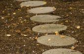 Hoe te verzegelen van Stepping Stones