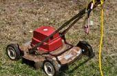 Controlelijst voor het onderhoud van de grasmaaier