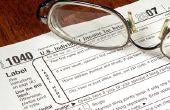 Hoe AMT Tax moet worden berekend