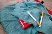 Hoe krijg ik de geur van sigarettenrook uit kleding
