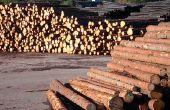 Hoe maak je een bankje van landschap Timbers