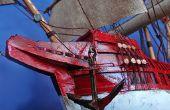 Hoe om te buigen van hout voor Model schepen