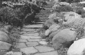 Het gebruik van Accent stenen in een tuin