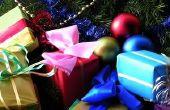 De huidige ideeën van Kerstmis voor studenten in de 5e klas
