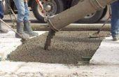 Hoe de berekening van de kubieke meter beton