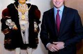 Zelfgemaakte Hendrik VIII kostuum