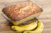 Hoe te vervangen door appelmoes in van het banaanbrood