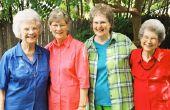 Subsidies voor non-profitorganisatie Senior burger stichtingen