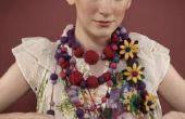 Hoe maak je een Mini jurk vorm met een Stand van sieraden