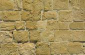 Mortel ingrediënten voor stenen muren