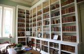 Delen van een boekenkast
