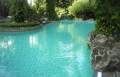 Hoe maak je een chloor zwembad Float