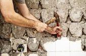 Hoe te verwijderen van Tegel Backsplash zonder beschadiging van gipsplaten