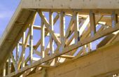 Hoeveel gewicht kan u van een dak Truss hangen?