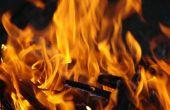 Hoe maak je een vuur zonder hout in het Wild