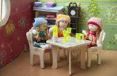 How to Make poppenhuis meubels van karton