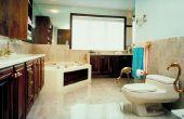 Hoe naar tegel een badkamer met rare hoeken