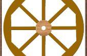 Hoe maak je een houten Wagon Wheel