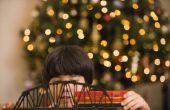 Kersttradities: Hebben een trein onder uw kerstboom