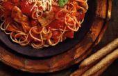 Hoe krijg ik een Spaghetti saus vlek uit uw kleding