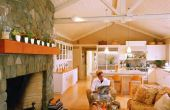 Hoe kiest u kleuren voor een woonkamer en eetkamer Combo
