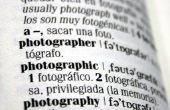 Hoe om te noemen een voetnootmarkering uit een woordenboek