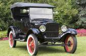 Hoe herken ik de leeftijd van een Model T Ford