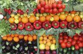 Foods hoog in kaliumchloride