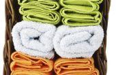 Is er een manier om te verzachten de harde handdoeken?
