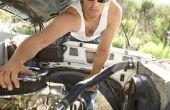 Hoe te trekken van een Ford Truck motor