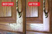 Hoe schoon van vet uit de keukenkast deuren