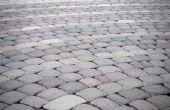 Gewicht van de betonnen straatstenen