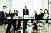 Hoe aan te pakken van een Raad van bestuur