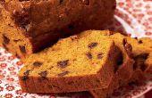 Hoe maak je pompoen brood met chocolade Chips recept