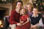 What to Wear voor een kerst familie portret