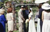 Wat kleuren zijn traditionele op een Joodse bruiloft?