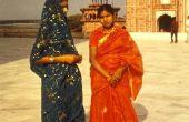 De ceremonie van het huwelijk van de Indische