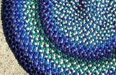 Hoe maak je een platte vlecht voor een deken