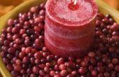 Het verfraaien van ideeën met verse Cranberries