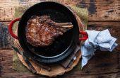 How to Cook een biefstuk in een gietijzeren koekepan