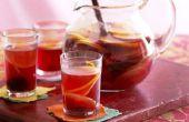 Dranken te maken met rode wijn