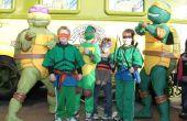 Hoe maak je een Ninja Turtle kostuum voor goedkoop