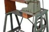Hoe schoon verroeste antieke naaimachines