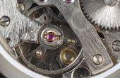 Hoe te repareren van een horloge van Seiko automaat
