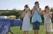 Buiten picknick spellen voor kinderen jaar 5-12