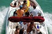 Hoe een boot zetel Dye