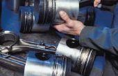 Hoe schoon Cast aluminium zuigers