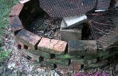 Hoe het bouwen van een baksteen vuurplaats