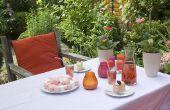 Ideeën voor een tuin partij huwelijksdouche