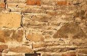Hoe om te herstellen van oude stenen kelder muren